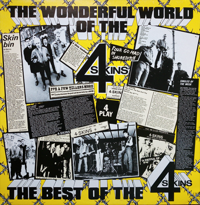 "4 Skins ""The Wonderful World..."" (Ultra clear vinyl)"