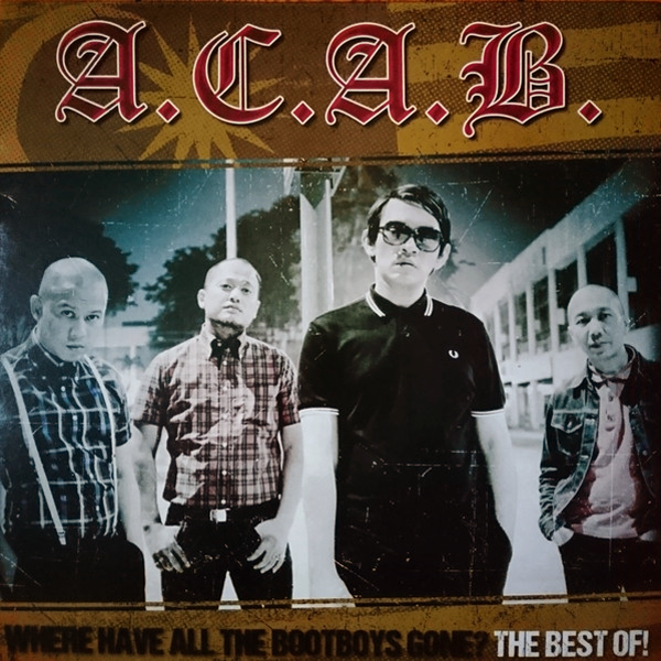 "ACAB ""The best of/Where have all the Bootboys gone?"" (Vinilo splatter)"