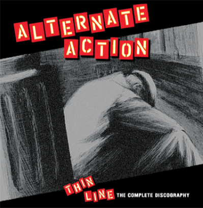 "Alternate Action ""Thin Line"" (2nd press/Red vinyl)"