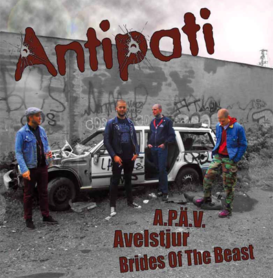 "Antipati/Last Rough Cause ""s/t"""