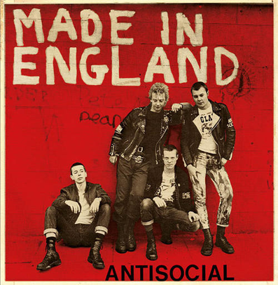"Antisocial ""Made in England"""