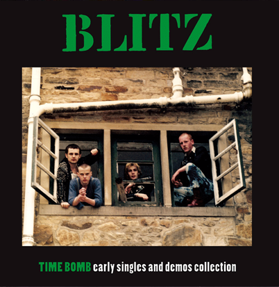 "Blitz ""Time Bomb: Early Singles & Demos Collection"""