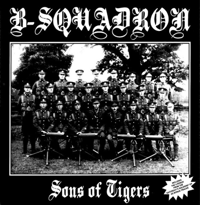"B Squadron ""Sons of Tigers"" (Clear vinyl)"