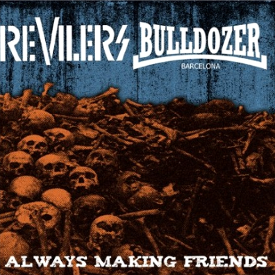"CPR005-Revilers/Bulldozer ""Always Making Friends"" (Red Vinyl)"