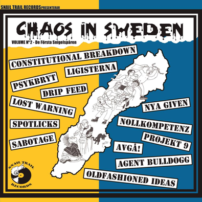 "VV.AA. ""Chaos in Sweden Vol.2"""
