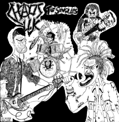 "Chaos UK ""Total Chaos-The singles"""