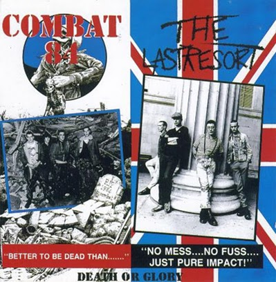 "Combat 84/The Last Resort ""Death or Glory"" (Vinilo rojo)"