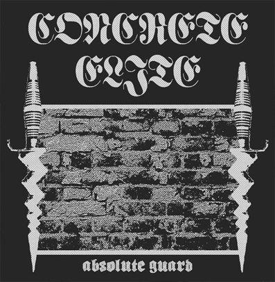 "Concrete Elite ""Absolute Guard"" (Silver/Black vinyl)"