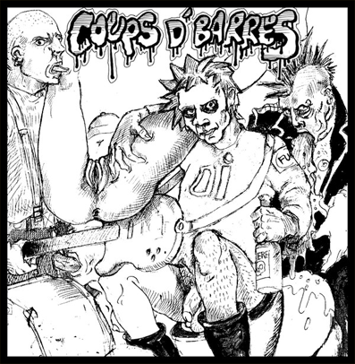 "Coups D'barres ""s/t"" (Yellow vinyl)"
