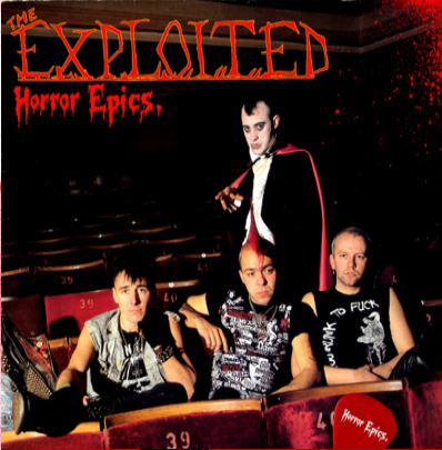 "The Exploited ""Horror Epics"" (Vinilo verde)"