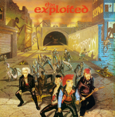 "The Exploited ""Troops of tomorrow"""