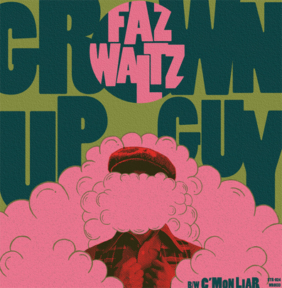 "Faz Waltz ""Grown up guy"" (Green vinyl)"