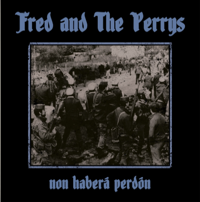 "CPR020-Fred and The Perrys ""Non haberá perdón"" (Blue vinyl)"