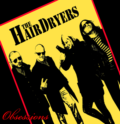 "CPR009-The Hairdryers ""Obessions"" (Yellow vinyl)"
