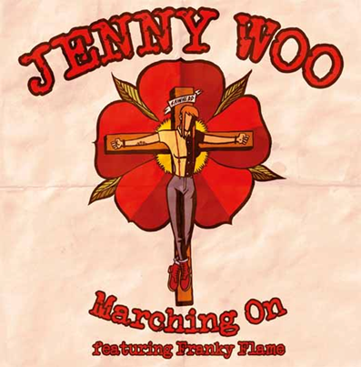 "Jenny Woo/Birds of Prey ""Marching on"" (Feat. Franky Flame)"