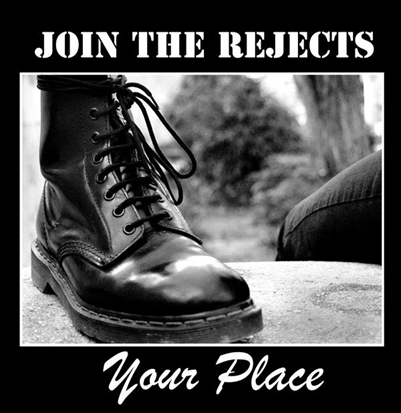 "Join the Rejects ""Your Place"" (180gr. vinyl)"