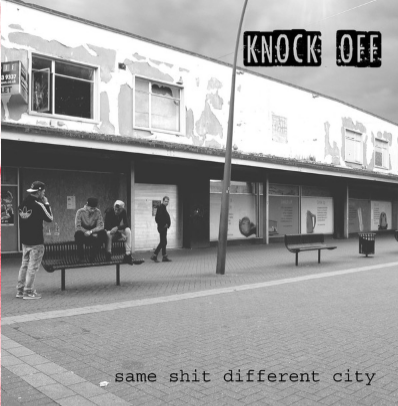 "Knock Off ""Same shit, Different city"" (Vinilo rojo)"