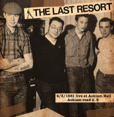 "The Last Resort ""Live at Acklam Hall 1981"" (Violet vinyl)"