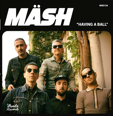"Mash ""Having a ball"""