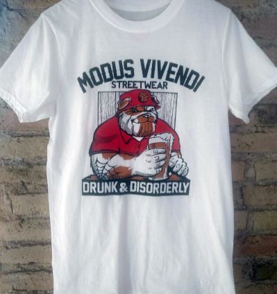 "Modus Vivendi ""Drunk & Disorderly"" (Talla M)"