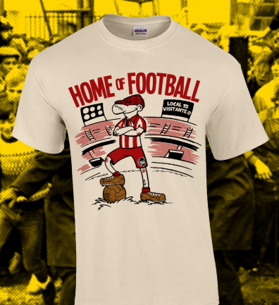 "Modus Vivendi ""Home of football"" (Talla XL)"