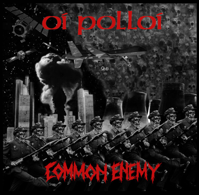 "Oi Polloi/Common Enemy ""Split EP"" (2nd press/White vinyl)"