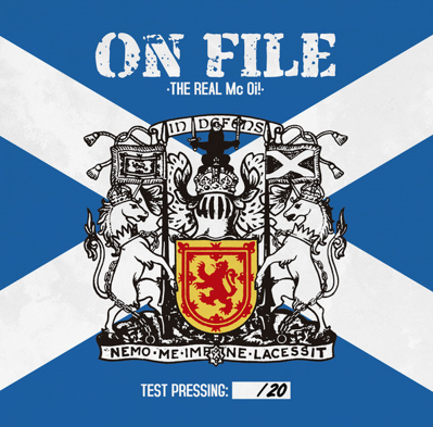 "CPR024-On File ""The Real Mc Oi!"" (Lim. 20 Test Pressing)"