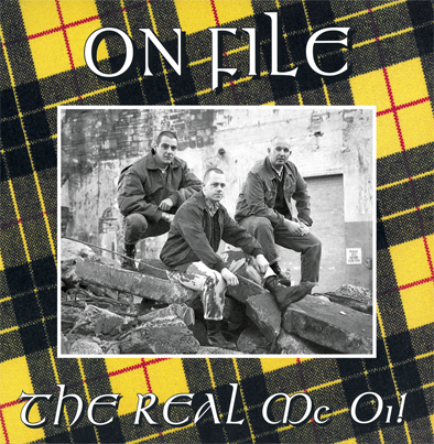 "CPR024-On File ""The Real Mc Oi!"" (Vinilo amarillo+Poster)"