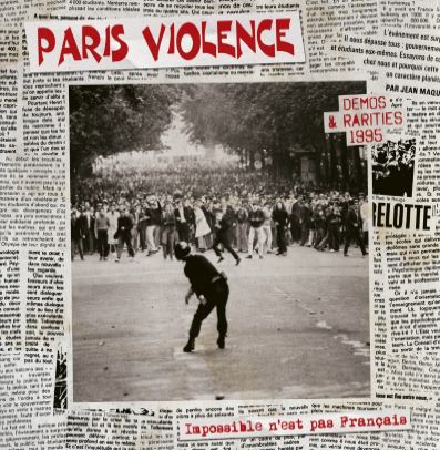 "CPR018-Paris Violence ""Impossible n'est pas Français-Demos & Rarities 1995"" (Red vinyl+Poster)"