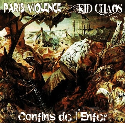 "Paris Violence/Kid Chaos ""Confins De L'Enfer"" (Green vinyl)"