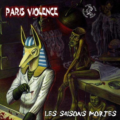 "Paris Violence ""Les Saisons Mortes"" (Black/grey vinyl)"