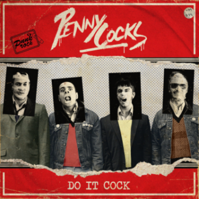 "CPR006-PennyCocks ""Do It Cock"" (Red Vinyl)"