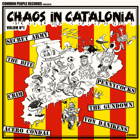 "CPR008-VV.AA. ""Chaos in Catalonia vol.1"" (Red Vinyl)"