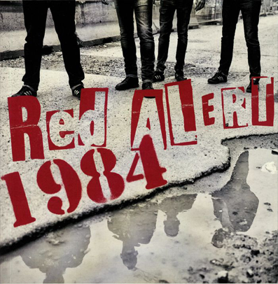 "Red Alert/1984 ""Split"" (Clear vinyl)"
