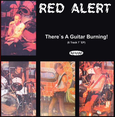 "Red Alert ""There's a guitar burning"""