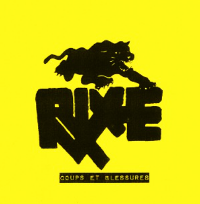 "Rixe ""Coups Et Blessures"" (7th press)"