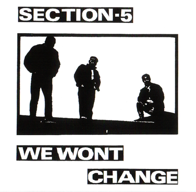 "Section 5 ""We wont change"""