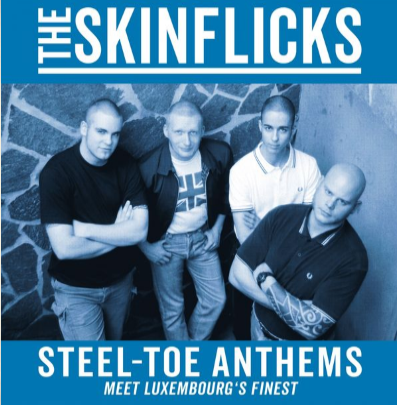 "The Skinflicks ""Steel-Toe Anthems"" (Blue vinyl)"