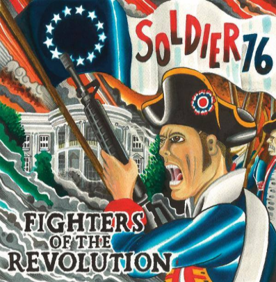 "Soldier 76 ""Fighters of the Revolution"" (Vinilo color)"