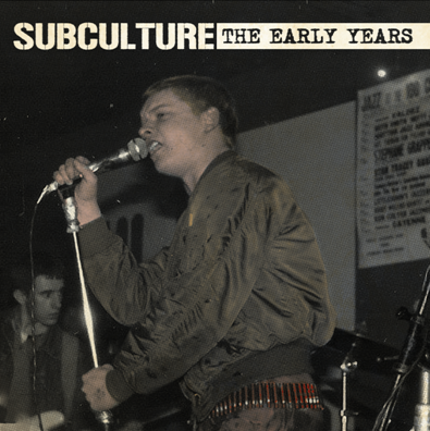 "CPR012-Subculture ""The Early Years"""