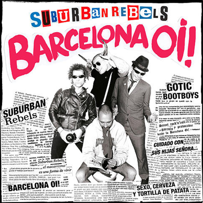 "Suburban Rebels ""Barcelona Oi!"" (Red vinyl)"