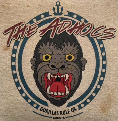 "The Adhocs ""Gorillas Rule OK"""