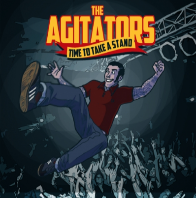 "The Agitators ""Time to take a Stand"" (Vinilo rojo)"