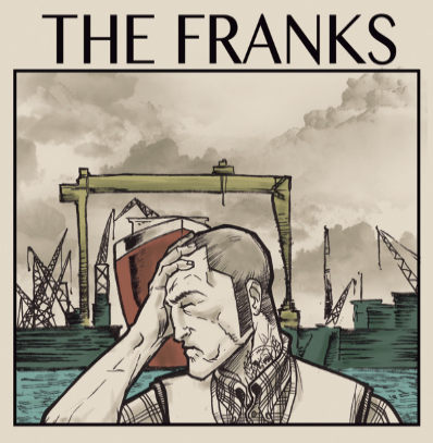 "The Franks ""s/t"" (Purple vinyl)"