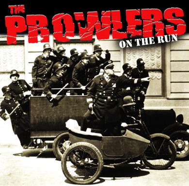 "The Prowlers ""On the run"" (2nd press/Brown vinyl)"