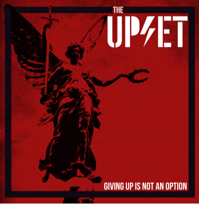 "The Upset ""Givin Up is not an Option"" (Vinilo rojo)"