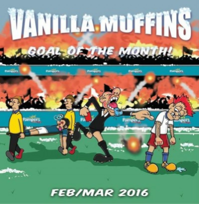 "Vanilla Muffins ""Goal of the month-February/March 2016"""
