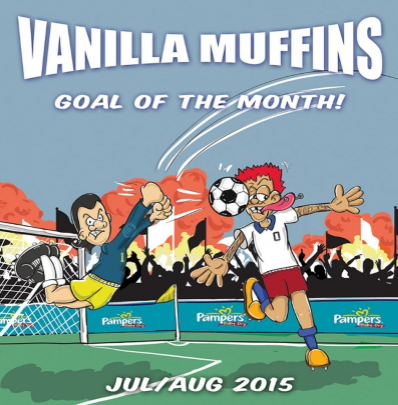 "Vanilla Muffins ""Goal of the month-July/August 2015"" (Green vinyl)"