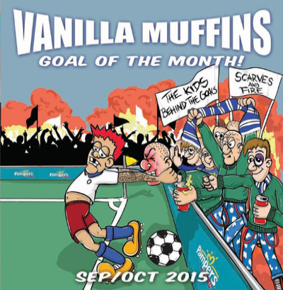 "Vanilla Muffins ""Goal of the month-September/October 2015"" (Green vinyl)"