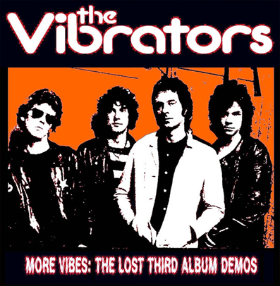 "The Vibrators ""More Vibes: The Lost Third Album Demos"" (Red vinyl)"